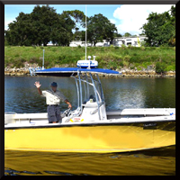 Captain Gabe Kovacs of K2 Charters, Venice, FL