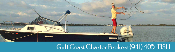 Capt Chuck Williams - Gulf Coast Charter Brokers 941-405-3474
