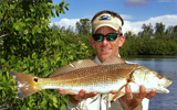 Capt. Chuck Williams with Red Drum Venice Florida
