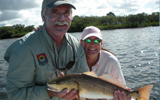 Frank Davis with Redfish