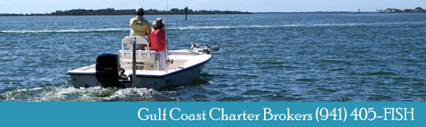 Capt Hank Evering - Gulf Coast Charter Brokers 941-405-3474