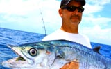 Kingfish with Capt. Chuck Williams off of Venice Inlet
