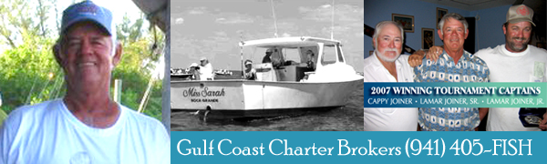 Captain Lamar Joiner Sr - Gulf Coast Charter Brokers, Boca Grande, FL
