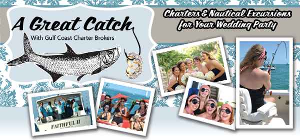 Destination Weddings and Bridal Party Fishing Charters
